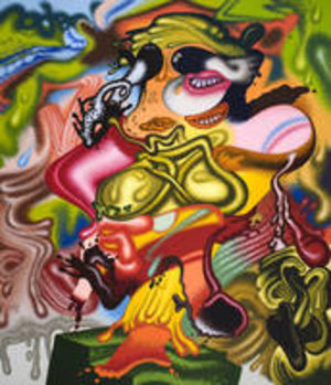 Peter Saul, Better than de Kooning